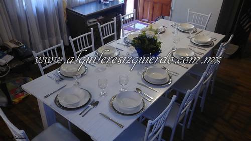 renta de sillas tiffany, carpas, salas, alquileres izquierdo