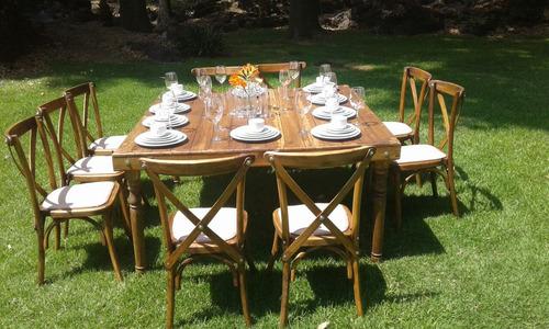 renta de sillas y mesas para tu evento