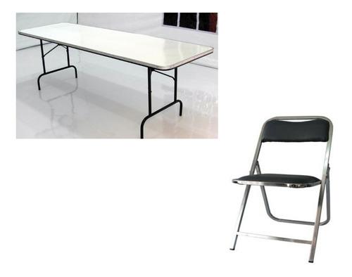 renta de sillas y tablones