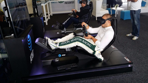 renta de simuladores formula 1 realidad virtual oculus rift