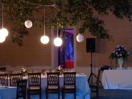 renta de sonido, iluminación y dj para fiestas