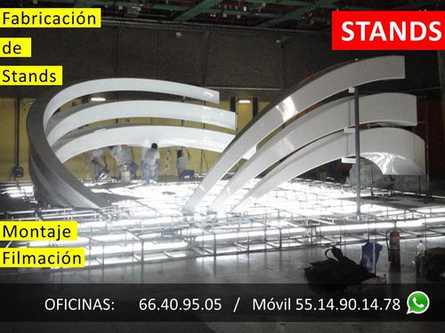 renta de stands 3x3, 6x3, cdmx, df, escenografias, escenario