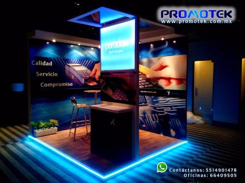 renta de stands 3x3,6x6, df, exposiciones, escenarios taller