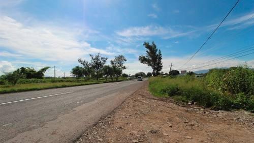 renta de terreno en carretera chapala, excelente para negocio !!!!