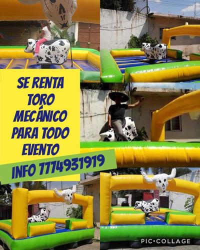 renta de toro mecánico inf,,7774931919 watssap cuernavaca