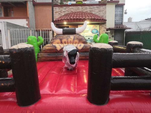 renta de toro mecánico y de todo para eventos