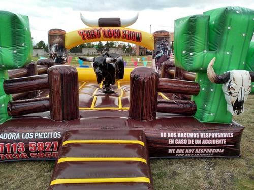renta de toro mecánico y de toro para tus eventos