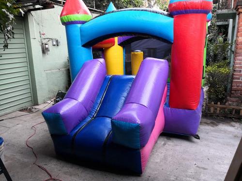 renta de tumbling trampolin inflables brincolin para fiestas