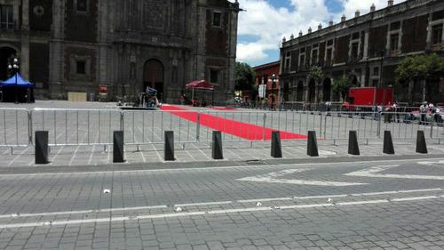 renta de vallas popotillo  unifilas alfombra roja templetes