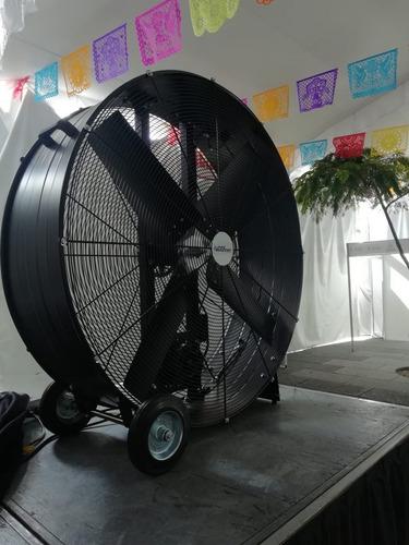 renta de ventiladores gigantes y cooler en guadalajara.