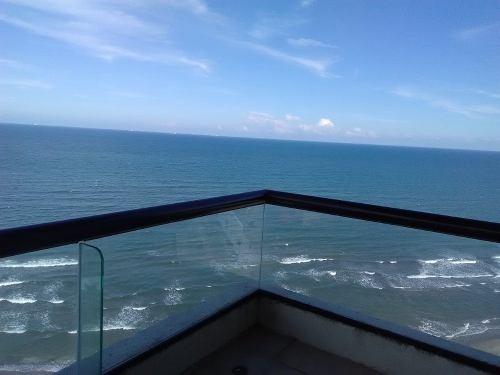 renta departamento amueblado vista al mar en boca del rio