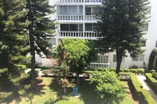 renta departamento  av. escuela naval militar fraccionamiento torres de coyoacan