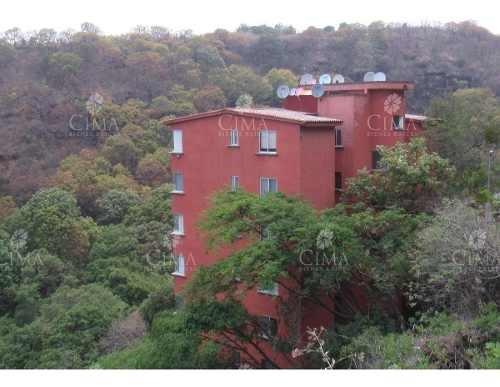 renta departamento con vista panorámica en cuernavaca- v41