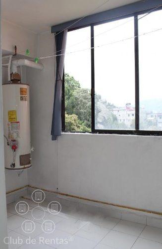 renta departamento de tres recámaras en residencial atenea, en huixquilucaninmobiliario