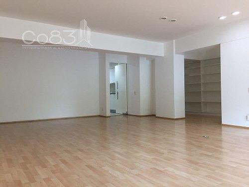 renta - departamento - polanco - 270 m - $65,000