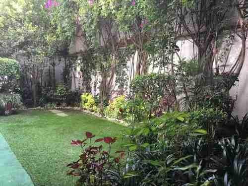 renta departamento polanco loft amueblado en polanco con jardín