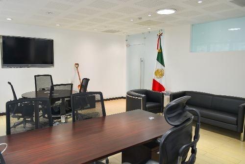 renta edificio de oficinas amuebladas, insurgentes sur cdmx