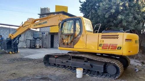 renta excavadora 20 toneladas mensual
