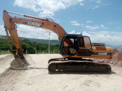 renta excavadora case cx240 kit martillo excelente