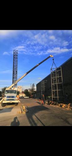 renta grúa titán 8 ton