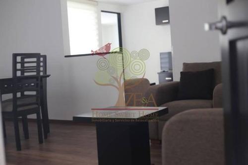 renta hermoso penthouse - estudio totalmente amueblado!!