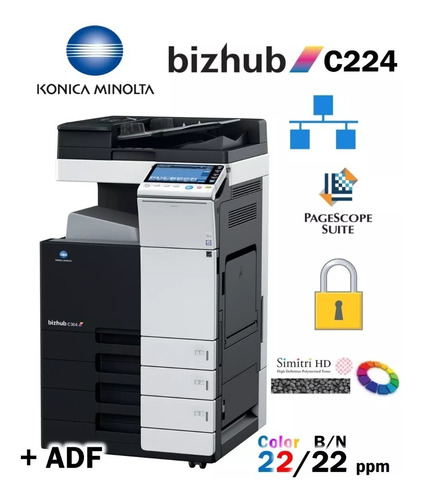 renta impresoras outsourcing copiadoras konica minolta ricoh