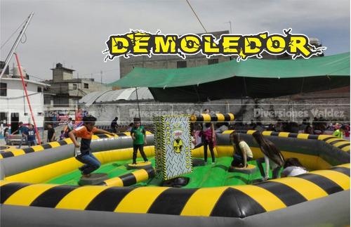 renta inflables trampolines brincolines futbolitos carpas