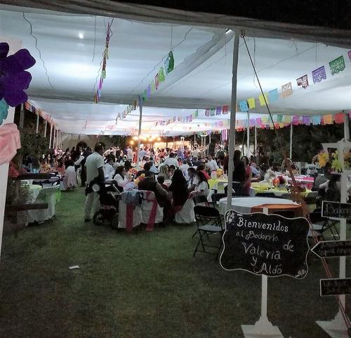 renta jardin para cualquier evento social de 50-1000 persona