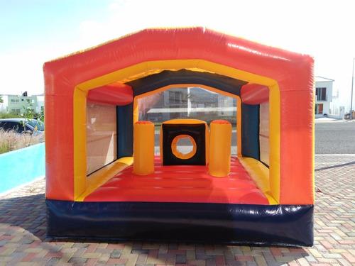 renta juegos inflables ecatepec trampolin futbolito brincoli