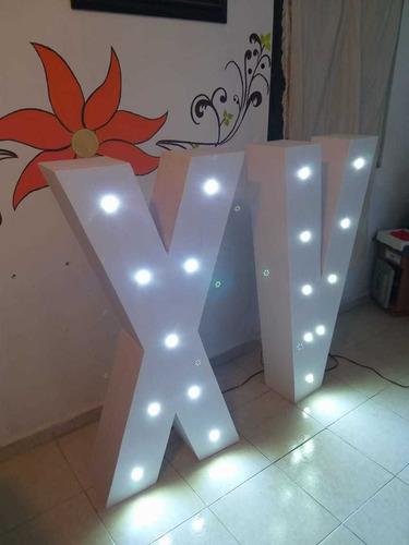 renta letras con luces
