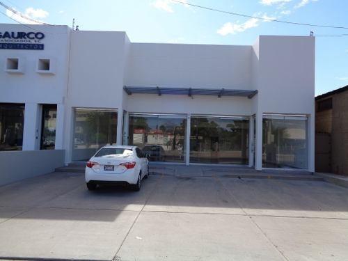 renta local comercial frente a boulevard zona norte en hermosillo