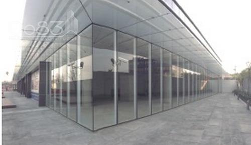 renta - local - forum naucalpan - 129 m2