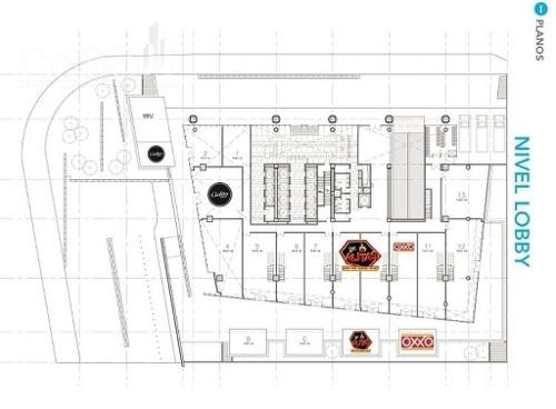 renta - local - forum naucalpan - 129m2 - $75,353