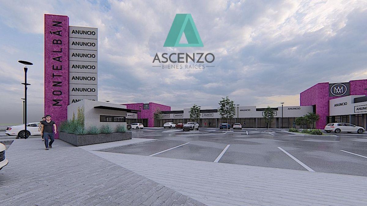 renta locales comerciales de 60m2 en plaza monte alban
