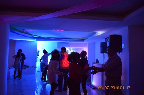 renta luz y sonido karaoke dj audio iluminación df