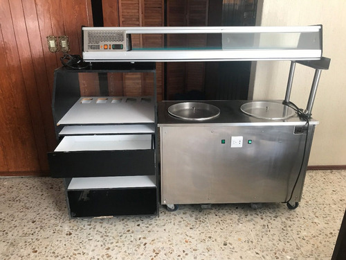 renta maquina helado frito o a la plancha equipo completo