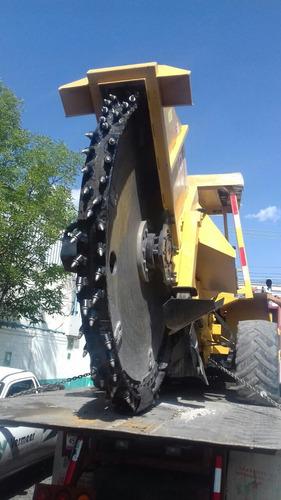 renta maquinaria de construcción, zanjadora vermeer rtx1250