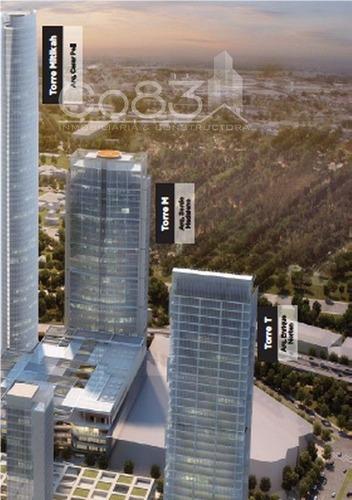 renta - mezzanine - torre mítikah - 956 m2