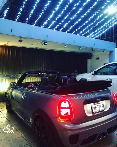 renta mini jhon cooper works convertible para eventos