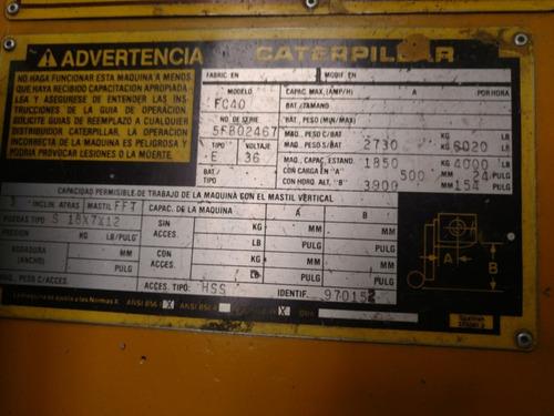 renta montacargas caterpillar, yale electricos desde $12,000
