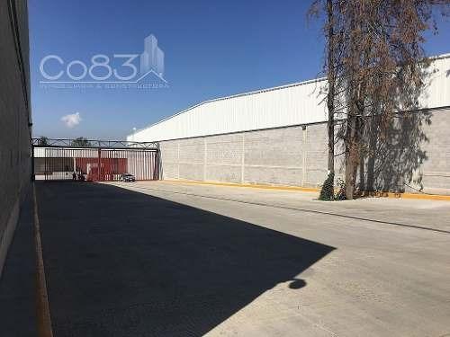 renta - nave industrial - ayotla - 1,469m2 - $102,830