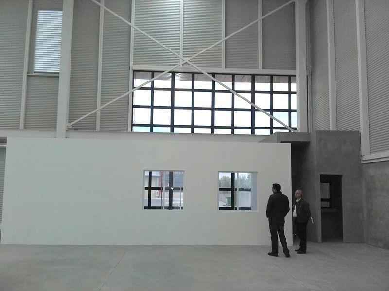 renta nave industrial, pie de carretera querétaro - méxico, 1880 m2 disponible