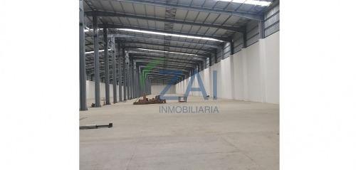 renta nave industrial por chachapa