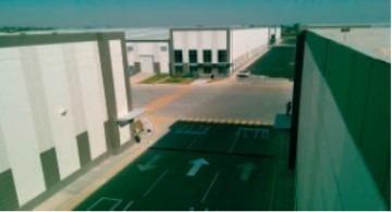 renta nave logistica e industrial  6678 m2 en condominio
