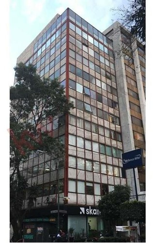 renta oficina 190m $52,000 corredor insurgentes frente a parque hundido, piso completo, muy comunicada