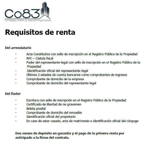 renta - oficina - capital reforma - 455m2 - usd$11,830