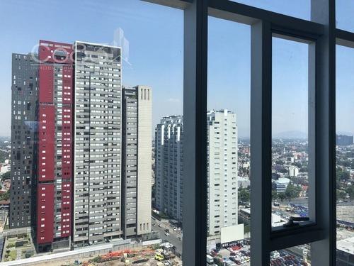 renta - oficina - carso torre ii - 2400 m2