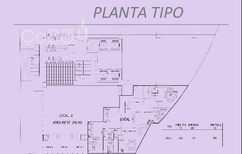 renta - oficina - corporativo 261 - 250 m2