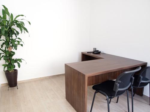 renta oficina en coworking