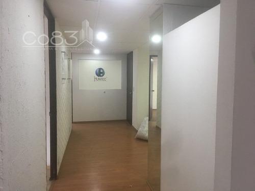 renta - oficina - homero - 120 m2